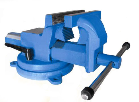 DROP FORGED STEEL BENCH VISE